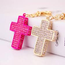 christening party favors free shipping 30pcs lot lovely rhinestone christening cross