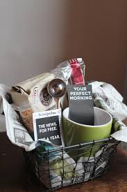 coffee gift basket gift box ideas for dads ruffled