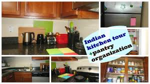 How To Organize Your Kitchen Counter Indian Kitchen Organization Kitchen Tour Pantry Organization