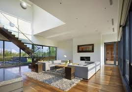 Living Room Single Family Home Floor Plans Modern Houses Single