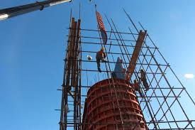 Rebar Worker Prism Engineering Hsr Construction Inspection Services Prism