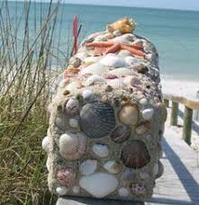 Nautical Themed Mailboxes - completely coastal decorating blog unique decorated shell