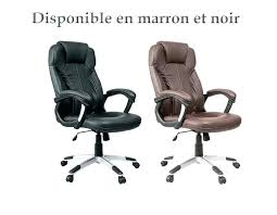 fauteuil de bureau marron chaise de bureau cuir henderson wire pro
