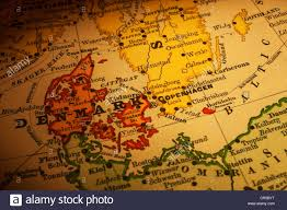 old map of denmark and sweden focus is on denmark map is from