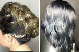coloring hair gray trend name 11 hair trends that will make 2018 a very very pretty year