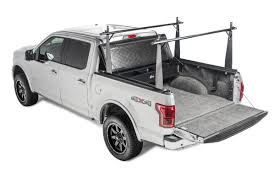Ford Ranger Truck Bed Accessories - 1994 2014 ford ranger hard folding tonneau cover rack combo