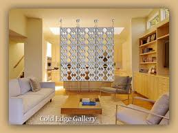 Floor To Ceiling Wall Dividers by Cold Edge Gallery Artistic Room Dividers Art Gallery