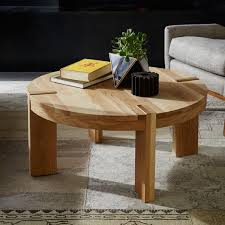 west elm round coffee table modern contemporary round oak coffee table designer accent tables