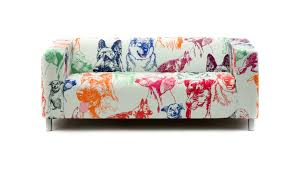 Colorful Furniture by Decor Colorful Dogs Pattern Klippan Sofa Cover For Furniture