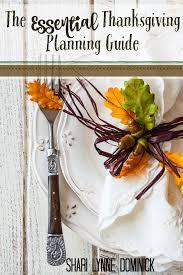 thanksgiving planning guide thanksgiving thanksgiving