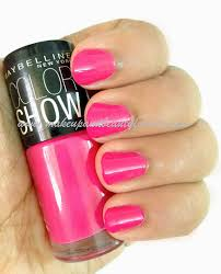 all maybelline color show nail paints shades photos and swatches