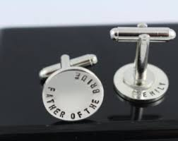 Personalized Gifts For The Bride Wedding Cuff Links U0026 Tie Clips Etsy
