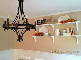 Styling Room Www Detailgal Com Diy Shelves For 100 Dining Room Shelf Styling