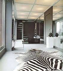 zebra print bedroom decor black and white for home interior design