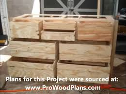 Diy Wood Desk Plans by Wood Dresser Plans How To Build A Dresser Diy Timelapse Woodwork