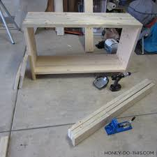 Kreg Jig Table Top Build A Changing Table Diywithrick