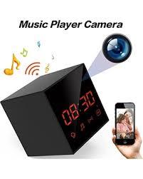 motion l wireless speaker deals on lizvie wifi hidden spy clock portable cam for home office