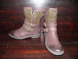 womens ugg boots with buckle womens ugg simmens leather brown buckle wool warm mid winter
