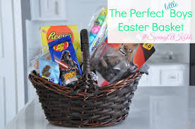 easter basket boy the boys easter basket springatkohls a thrifty