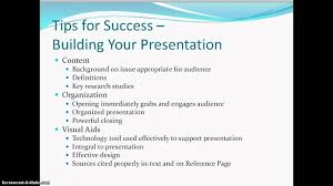 Example Of Video Resume by Research Paper Presentation Options Youtube