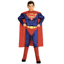 kids muscle superman costume morph costumes uk