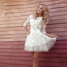 pretty graduation dresses compare prices on pretty white graduation dresses online shopping