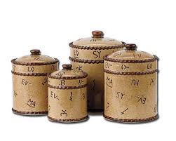 kitchen canister sets kitchen canister set antique copper set of 4