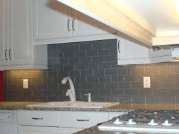 subway tile in kitchen backsplash gray glass subway tile kitchen backsplash arminbachmann