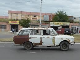 rusty car white background zaporozhets jim holroyd 365