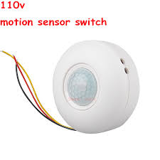 Ceiling Mounted Motion Sensor Light Switch High Sensitivity Ac110v Ceiling Mounted Pir Motion Sensor Light