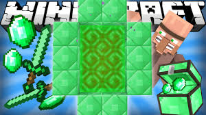 Emerald If An Emerald Dimension Was Added Minecraft Youtube