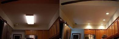 Replace Fluorescent Light Fixture In Kitchen How To Replace Fluorescent Lighting In A Kitchen Hunker