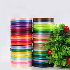 ribbons wholesale 6mm 22 meters single satin ribbon wholesale gift packing