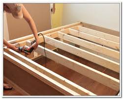 How To Build A Bed Frame With Storage Storage Diy Bed Frame With Storage In Conjunction With Diy