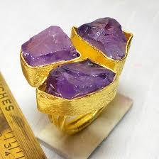 fashion gemstone rings images Amethyst ring e rbj998 fabulous fashion rings with gold vermeil jpg