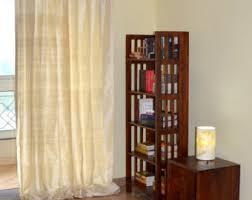 Thai Silk Drapes Lime Green Silk Curtain Dupioni Silk Window Dressing