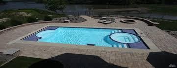 new great lakes in ground fiberglass pool by san juan pools aquatics in osage san juan pools