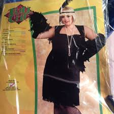 full cutt the flapper costumes plus size from barely u0027s closet