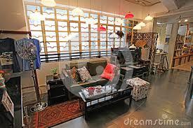 Home Interior Shop Home Interior Shop In Soho Area In Hong Kong Editorial