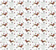 dachshund christmas wrapping paper christmas animals wrapping paper ebay