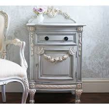 french style side table bonaparte bedside table french style shabby and bedside cabinet