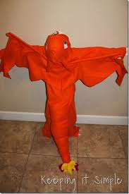 Charizard Pokemon Halloween Costume Keeping Simple Diy Pokemon Charizard Dragon Costume