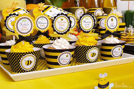 to bee baby shower bumble bee baby shower ideas