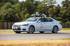 toyota auto car toyota unveils a next generation self driving car for testing