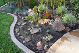 awesome picture of simple rock garden how to build a simple cheap