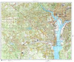 big washington dc map washington dc cold war map sheet 3 of 4 by ussr ministry of defense