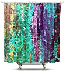 Cheap Shower Curtains Shower Curtains Fabric Teawing Co