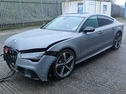 damaged audi for sale 2015 audi rs7 tfsi v for sale at copart uk salvage car auctions