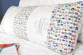Duvet Sewing Pattern Giant Body Pillow Sewing Pattern With Pocket