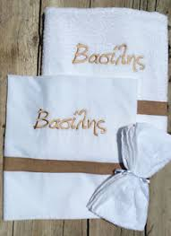 baptism christening towels and sheet personalized ebay